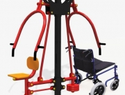 outdoor gym equipment in SA - fitness equipment