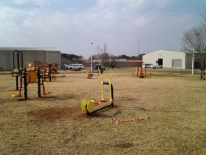 FREE STATE UNIVERSITY OUTDOOR GYM