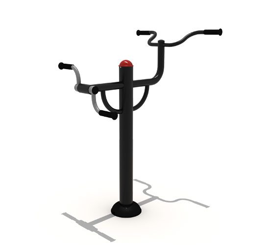 Paraplegic-Hand-bike-and-pull-up