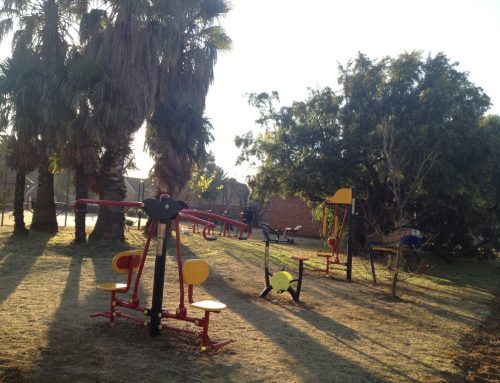 Crystal park a 13 unit community outdoor gym, Gauteng