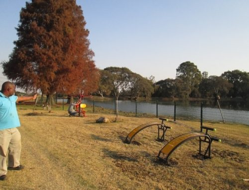 Community outdoor gyms in Guateng