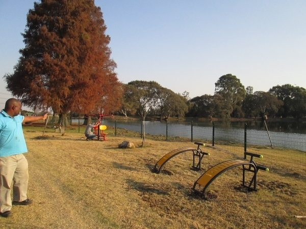 outdoor gym equipment in Durban - fitness equipment