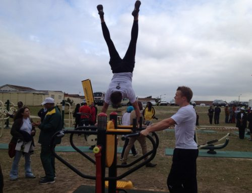Service delivery: an outdoor gym for the community