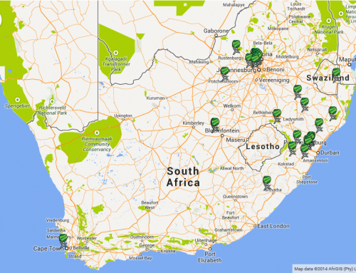 Outdoor Gyms on the Map in South Africa