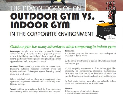 THE ADVANTAGES OF AN OUTDOOR GYM VS. INDOOR GYM IN THE CORPORATE ENVIRONMENT
