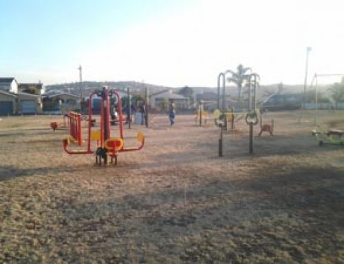 Outdoor gym in Marrian Ridge eThekewini Municipality