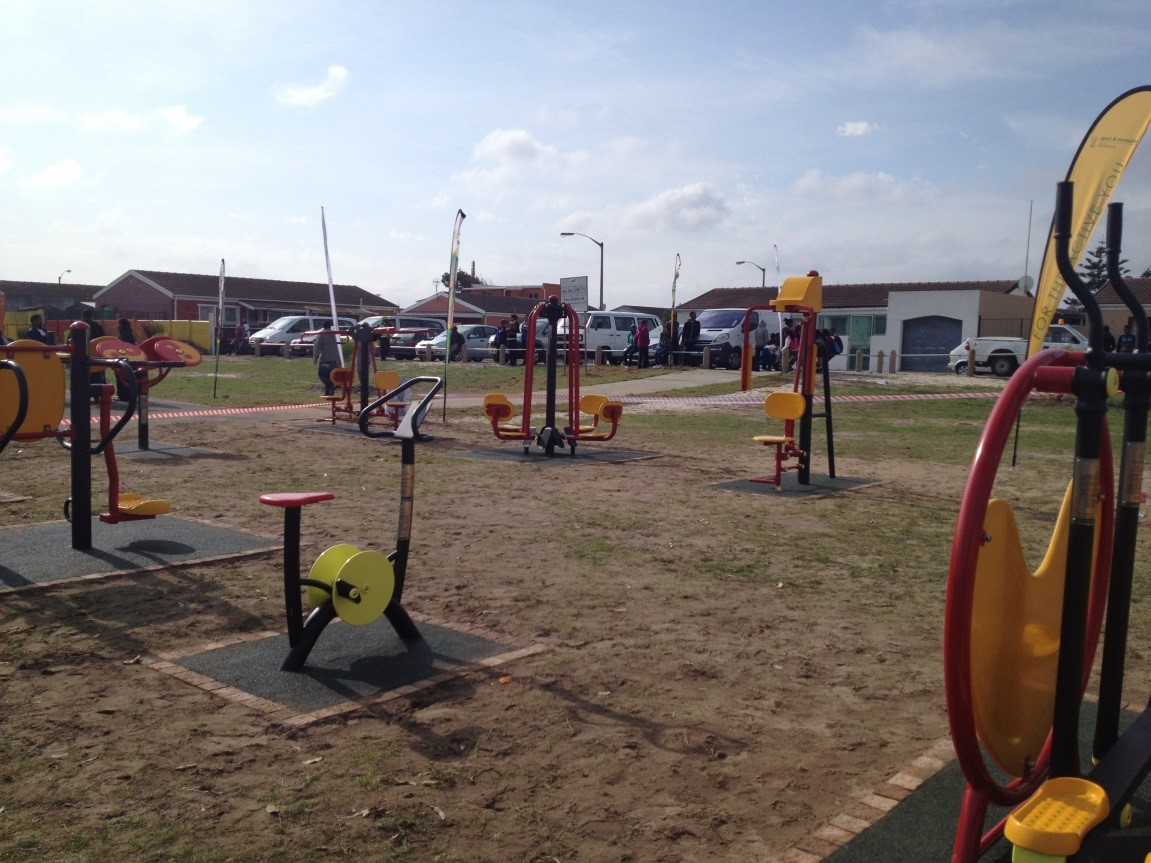 Mitchell's plain outdoor gym