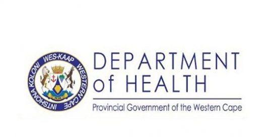 Health department Western Cape